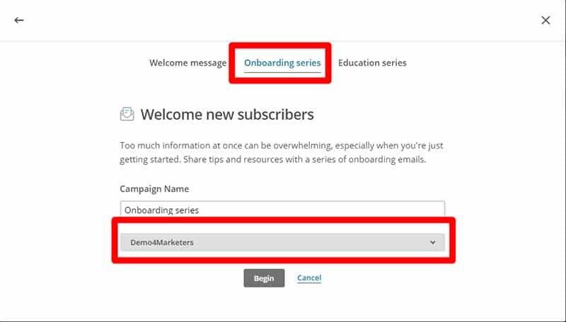 Funzionalità avanzate Mailchimp