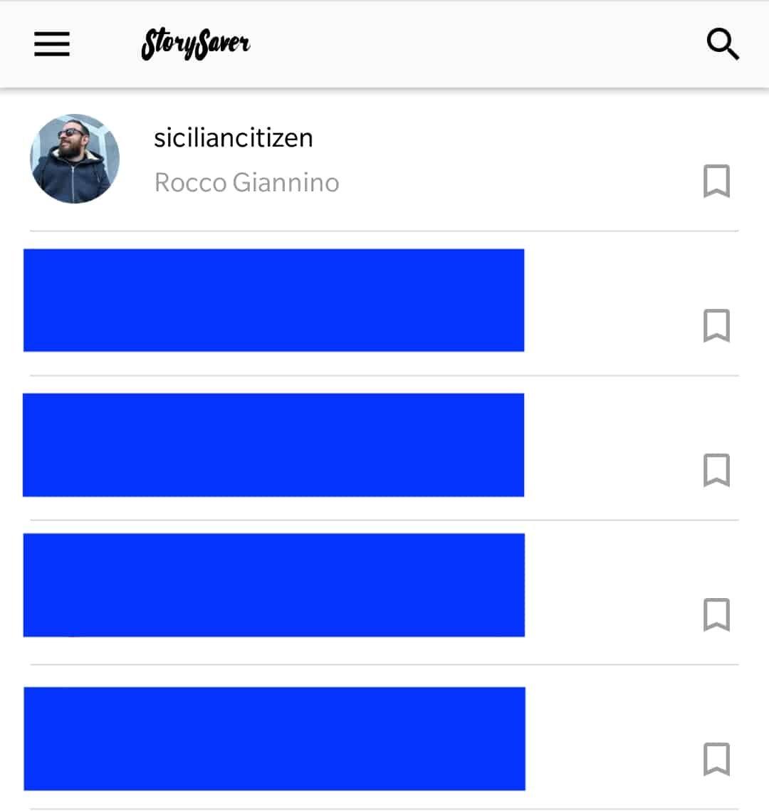 scaricare video instagram stories
