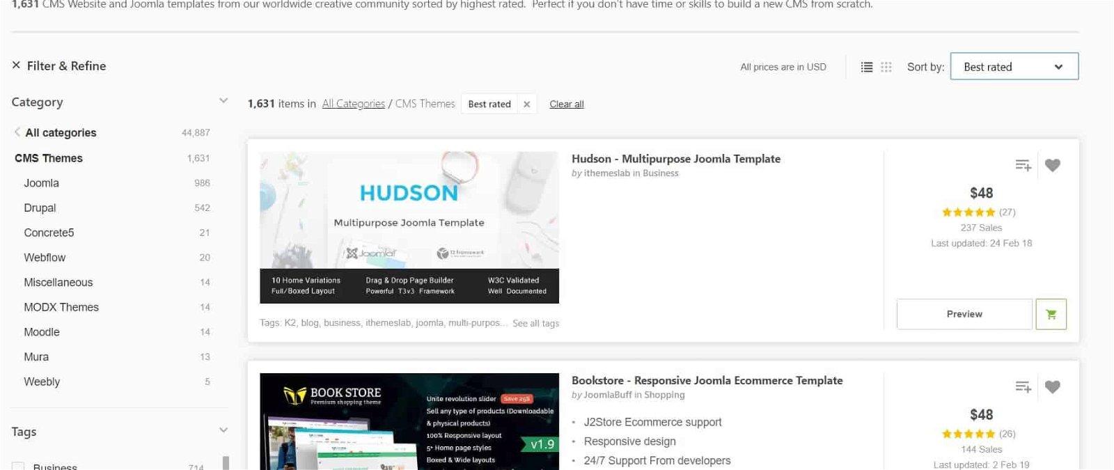 Recensione Themeforest - Il più grande e-commerce di temi del mondo 2
