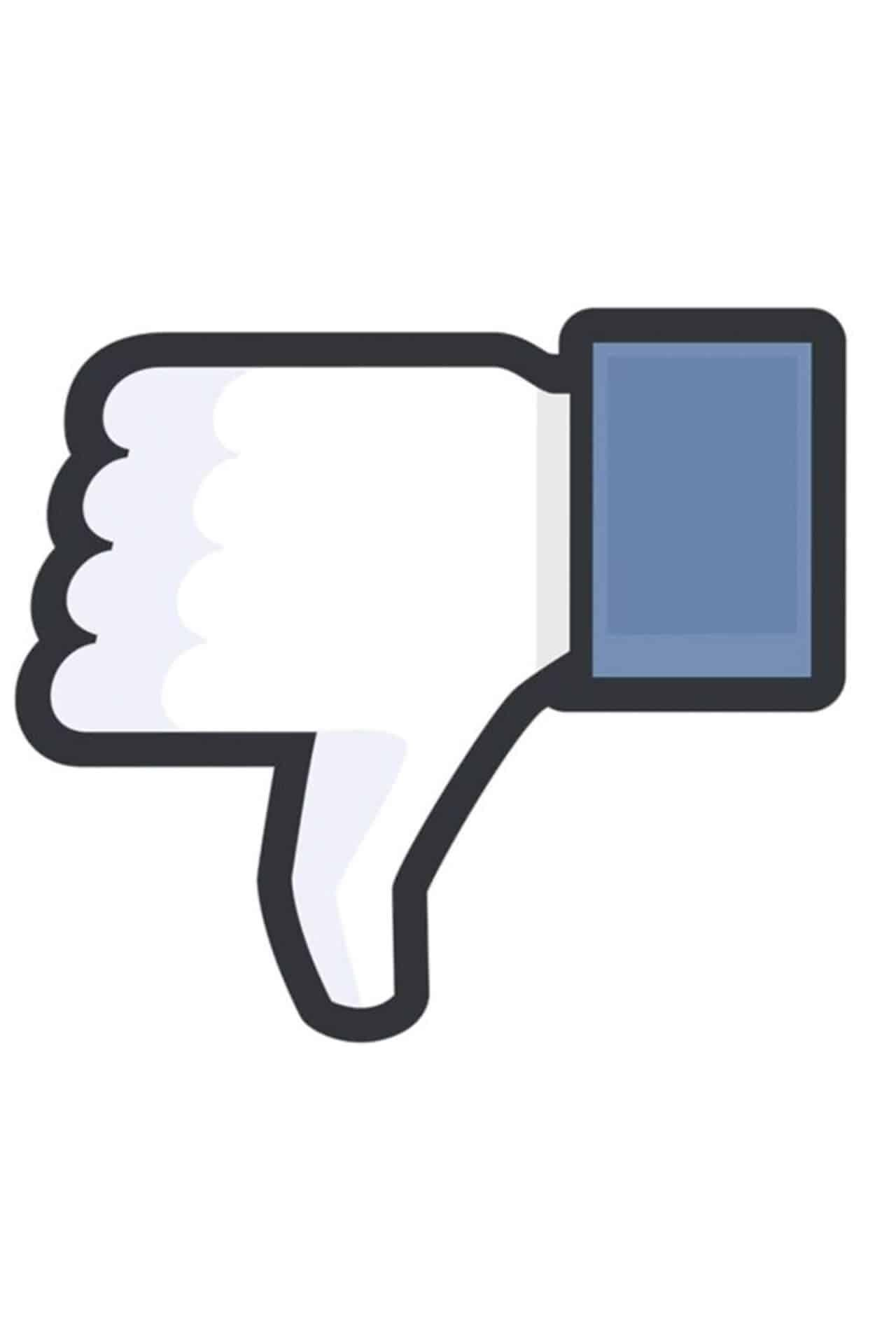 Facebook utenti in calo