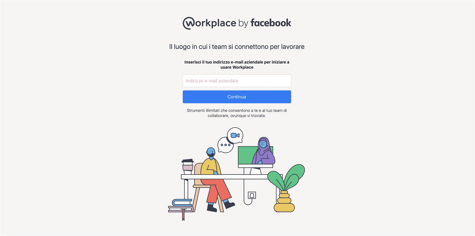 facebook-workplace-registrazione