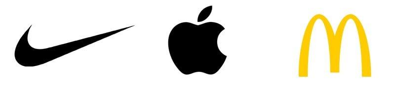 logo nike apple mcdonald's