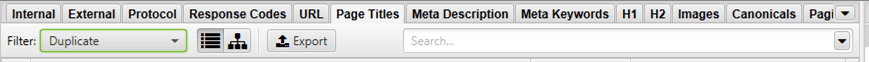 meta title duplicati