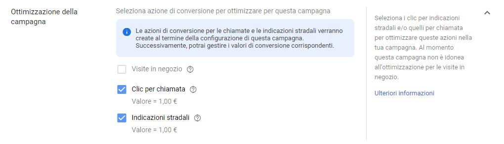 Google-Ads campagna local ottimizzazione