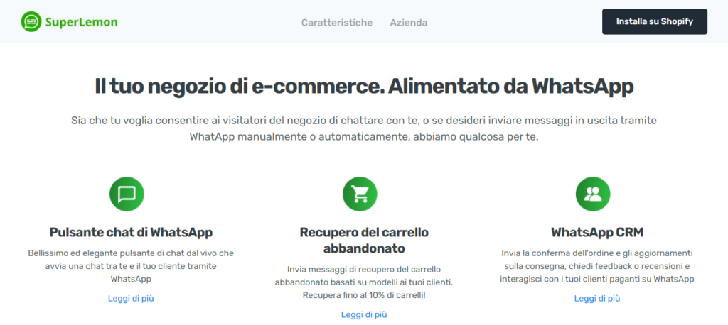 Guida E-commerce SuperLemon-Plugin-WhatsApp