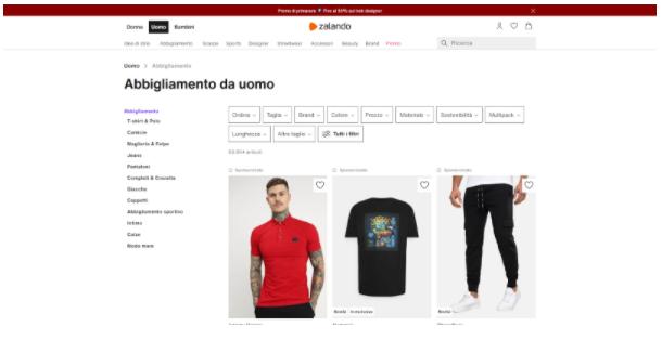 Guida E-commerce parole chiave