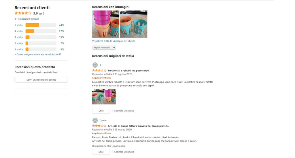 Guida E-commerce recensioni