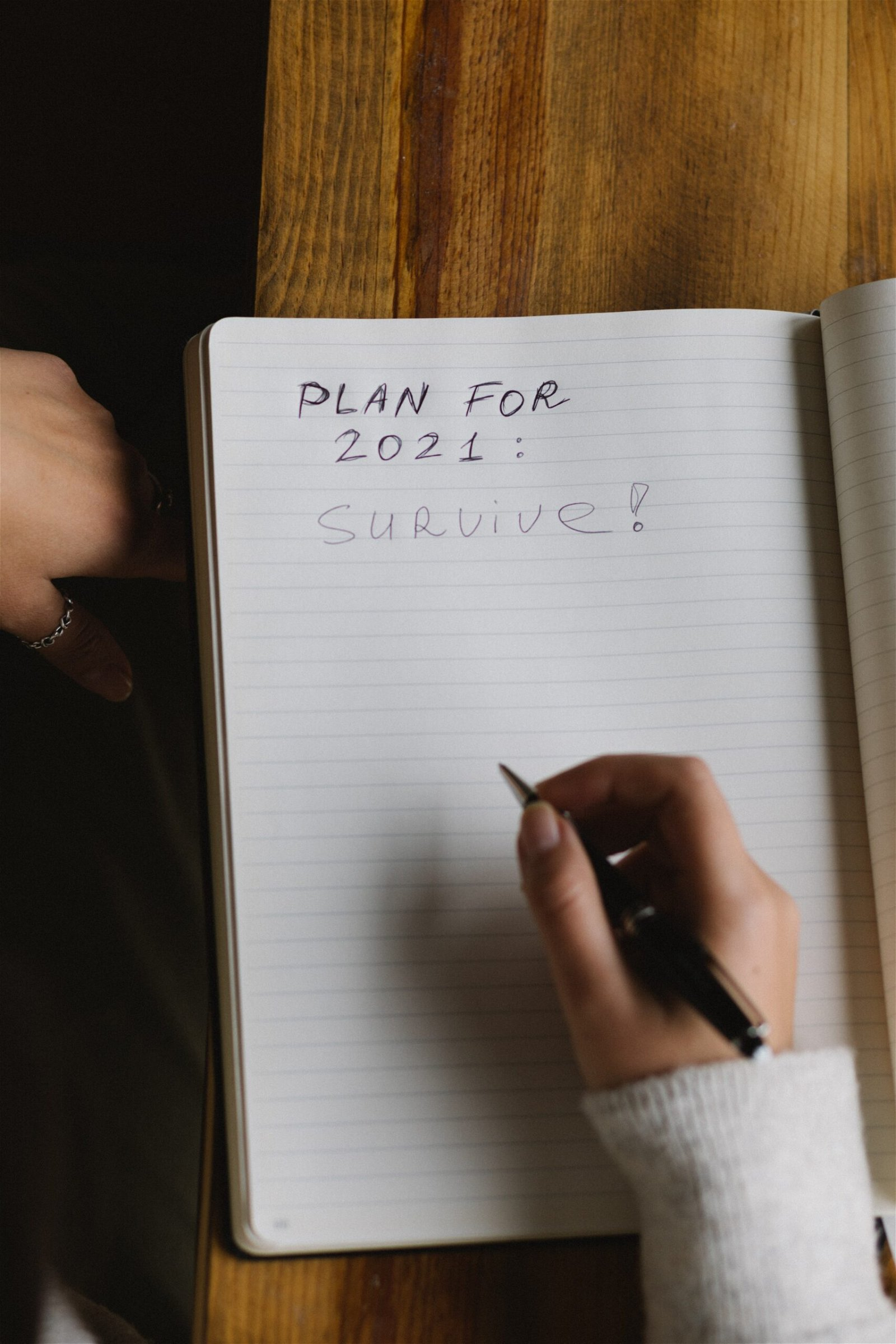 plan for 2021: survive