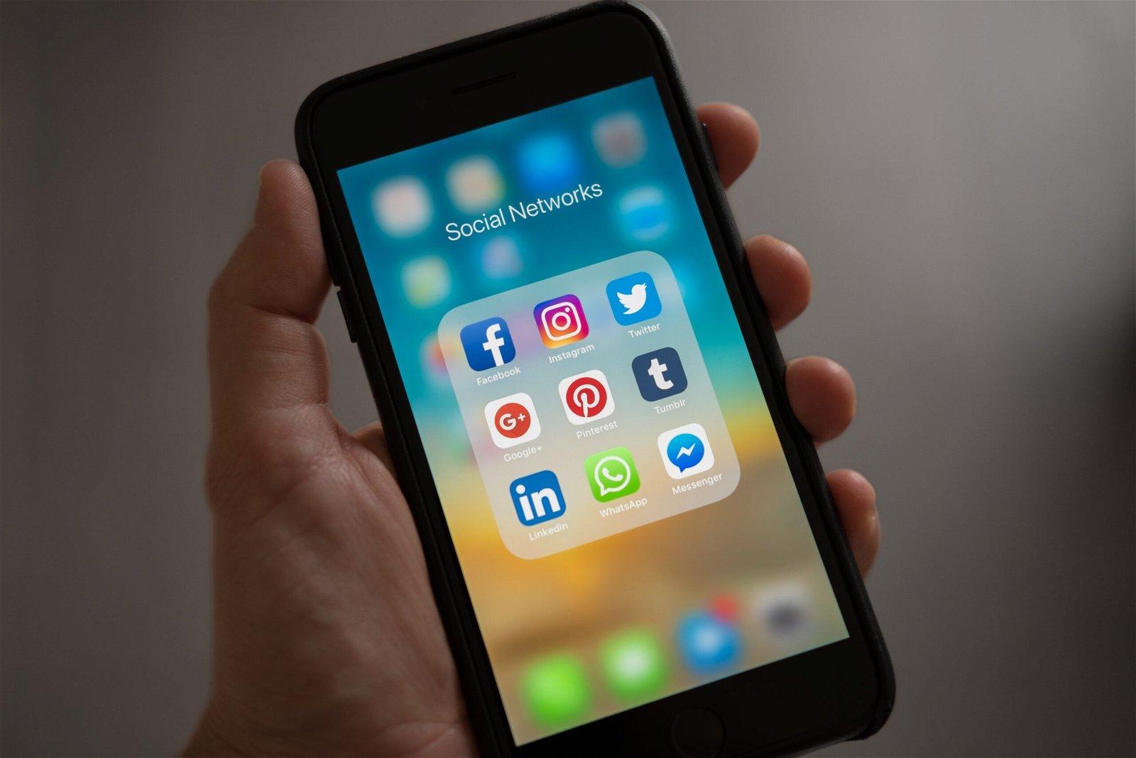 I loghi dei social networks