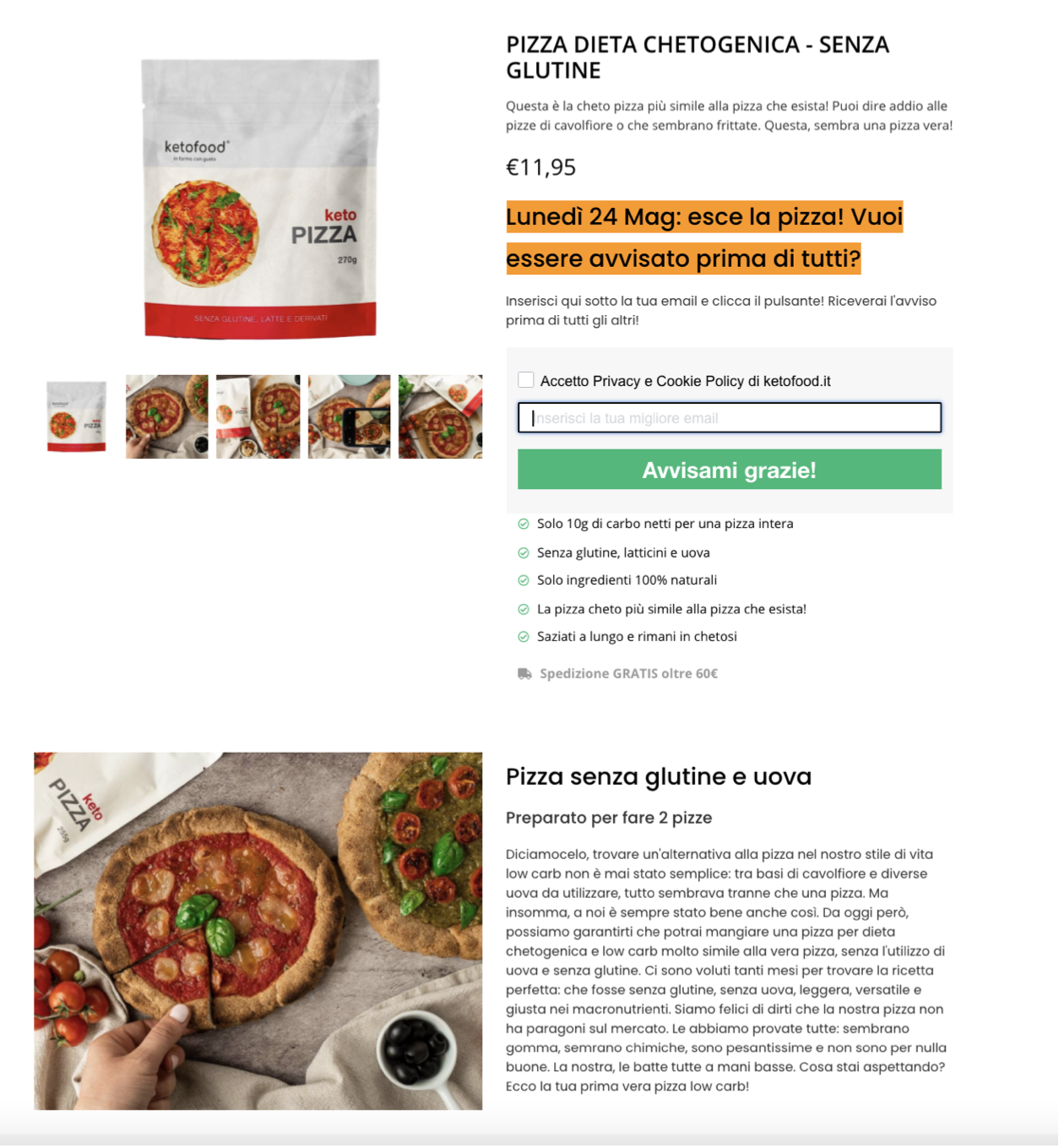 Landing-ketopizza