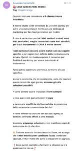 avvocato digitale caso studio telegram