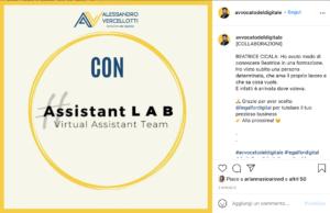 studio legale digitale post instagram