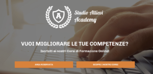 allievi academy homepage