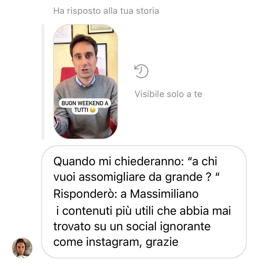 complimenti dm instagram 2